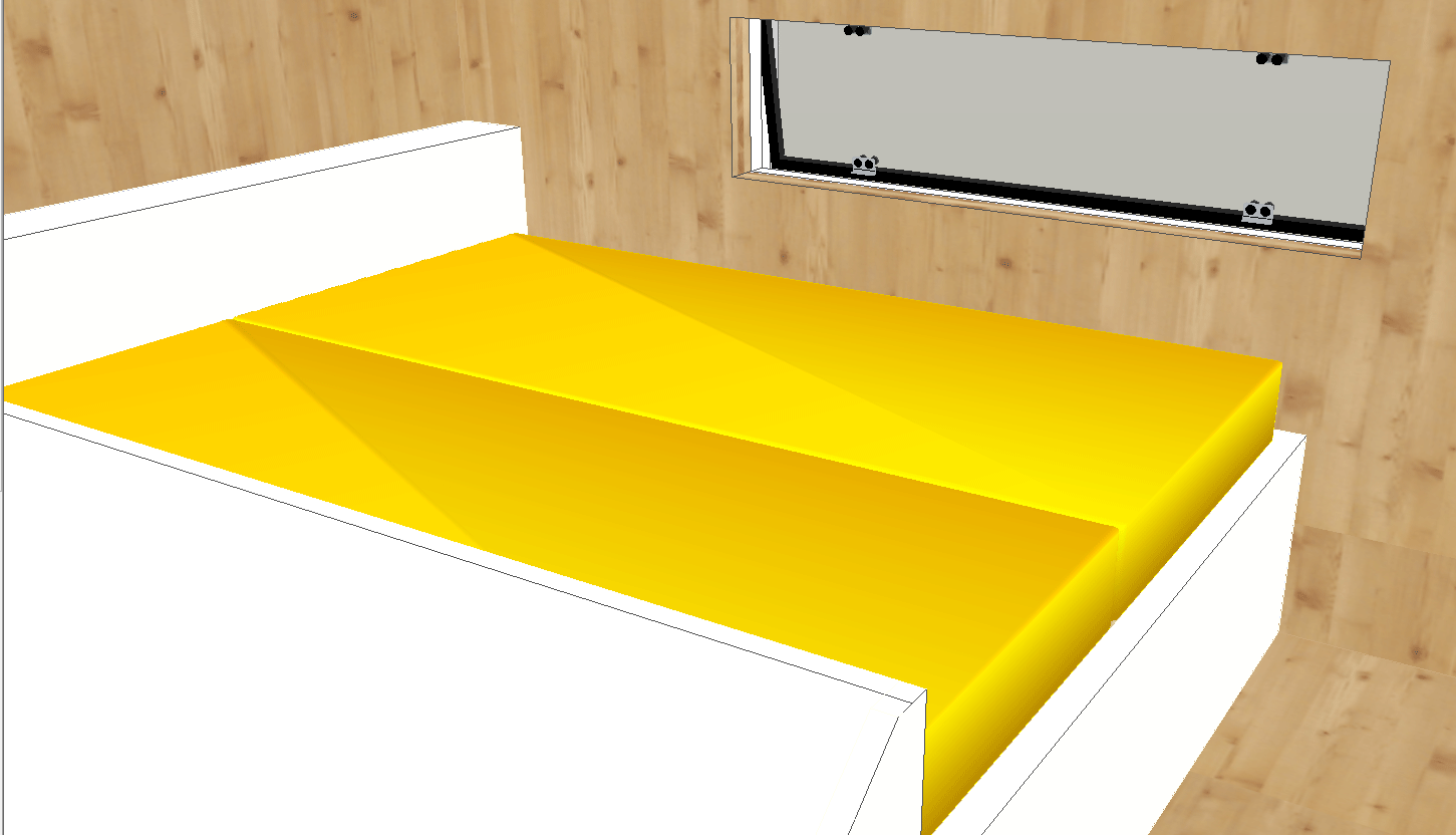 Tiny House T1 - Bed